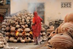 Indian street life Stock Image