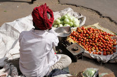 Indian street life Stock Image