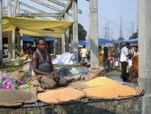 Indian street market royalty free stock photos