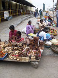 Indian street market Stock Images