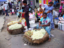 Indian  street market Royalty Free Stock Photo