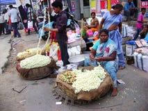 Indian street market royalty free stock photo