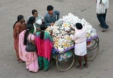 Indian street market Royalty Free Stock Photography