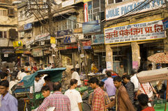Indian Street Scene Royalty Free Stock Images
