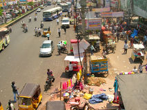 Indian street scene Royalty Free Stock Photo