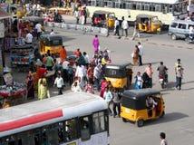 Indian Street Scene Stock Image