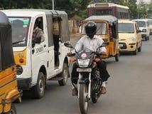 Indian Street Scene- Stock Photo