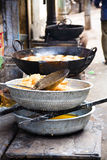 Indian street snacks Royalty Free Stock Image