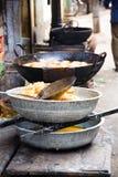 Indian street snacks Royalty Free Stock Image