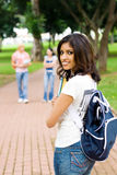 Indian student Royalty Free Stock Image