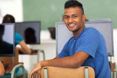 Indian student classroom Royalty Free Stock Photography