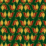 Indian style colorful seamless pattern Royalty Free Stock Images