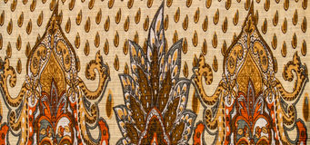 Indian style fabric Royalty Free Stock Image