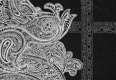 Indian style fabric Royalty Free Stock Photography