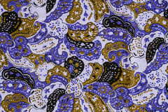 Indian style fabric Stock Images