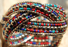 Indian style handmade jewelry Stock Photography