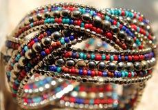Indian style handmade jewelry Stock Photography