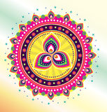 Indian style pattern Stock Image