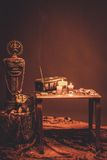 Indian style still life Royalty Free Stock Image