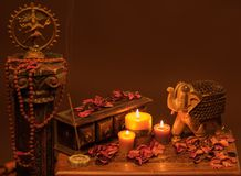 Indian style still life Royalty Free Stock Photography