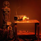 Indian  style still life Royalty Free Stock Images