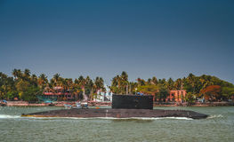 Indian submarine Royalty Free Stock Images