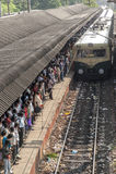 Indian suburban railway Stock Photography
