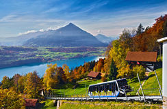 The Swiss Alps Royalty Free Stock Images