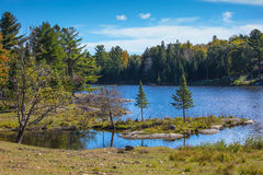 Indian summer in Canada Royalty Free Stock Photo