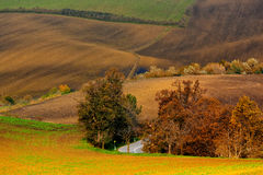 Indian summer in Moravia Royalty Free Stock Photos