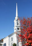 Indian summer new england. Typical indian summer in new england Stock Image