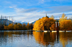 Indian summer in the Pyrenees catalan, Spain Royalty Free Stock Photos