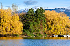 Indian summer in the Pyrenees catalan, Spain Stock Photos