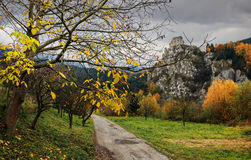 Indian summer - Slovak Republic royalty free stock photos