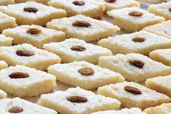 Indian sweet. Bengali steamed bhapa sandesh. Raisin has been used for ...