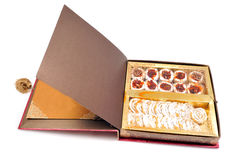 Indian sweet box Royalty Free Stock Photos