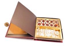 Indian sweet box Royalty Free Stock Photos