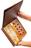 Indian sweet box Stock Photos