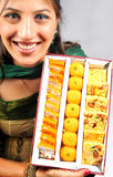 Indian sweet box Stock Photos