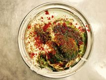 Indian Sweet Dahi Vada Stock Image