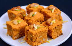 Indian Sweet Gajar Halwa Stock Photography