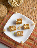 Indian Sweet Gazak or Gajak Royalty Free Stock Images