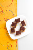 Indian Sweet Gazak or Gajak. Indian Sweet made up of Sesame (til) seeds and jaggaery (gud Stock Images