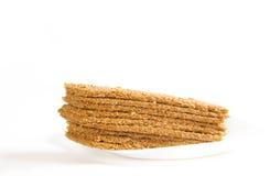 Indian Sweet Gazak or Gajak. Indian Sweet made up of Sesame (til) seeds and jaggaery (gud Stock Image