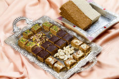 Indian Sweet Gazak or Gajak Royalty Free Stock Photos