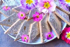 Indian Sweet -Kaju Katli royalty free stock image