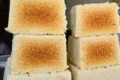 Indian Sweet - kalakand Stock Image