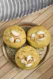 Indian sweet ladoo Royalty Free Stock Images