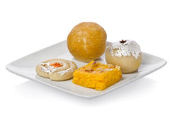 Indian Sweets Royalty Free Stock Photo