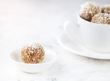 Indian sweets Besan Ladoo Royalty Free Stock Photography